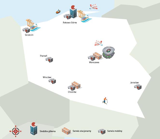 new mapa